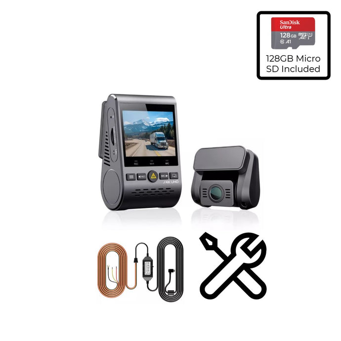 VIOFO A129 Pro Duo 128GB Install Bundle