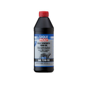 Liqui Moly Fully Synthetic Gear Oil GL5 75W-90 - Overdrive Auto Tuning, Lubricants and Additives auto parts
