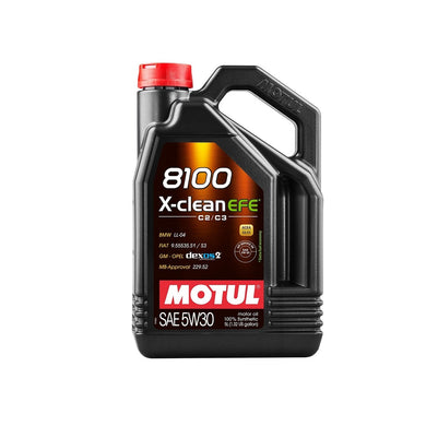 MOTUL 8100 X-Clean C2/C3 EFE 5W-30 Motor Oil - Overdrive Auto Tuning, Lubricants and Additives auto parts