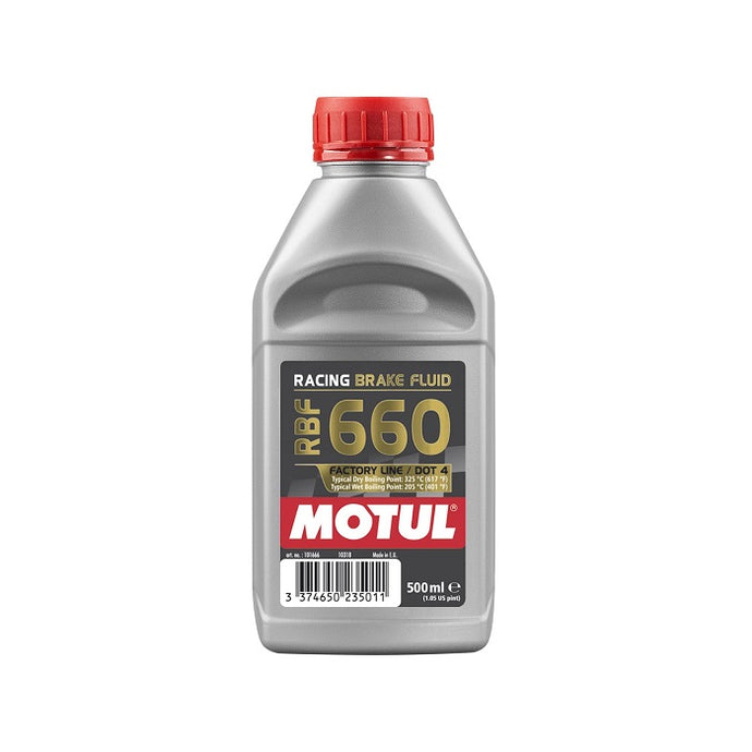 Motul RBF 660 Factory Line Racing Brake Fluid - Overdrive Auto Tuning, Lubricants and Additives auto parts