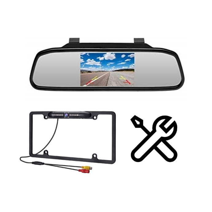 OD-X Mirror Backup Camera System Install Special - Overdrive Auto Tuning, Car Electronics auto parts