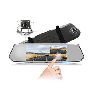 Rearview Mirror 2CH Dash Cam with Reverse Parking Camera - Overdrive Auto Tuning, Dash Cam auto parts