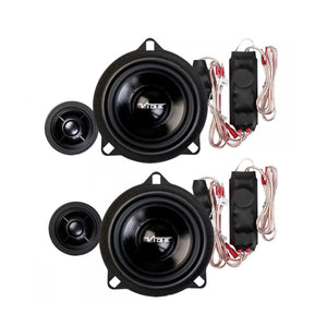"Vibe OptiSound BMW 4"" Component Speaker Kit - Overdrive Auto Tuning, Car Audio auto parts"