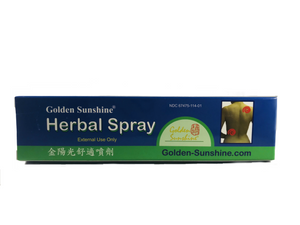Golden Sunshine Herbal Spray