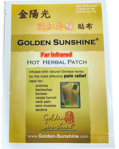 Golden Sunshine HOT Herbal Patch