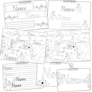 Name Writing Practise | Beach Ed. (Digital Download)