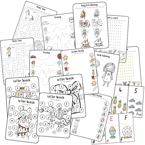 Quiet Time/Fast Finisher Activities (Digital Download)