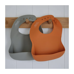 Silicone Scoop Bib