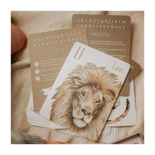 A-Z Animal Flash Cards