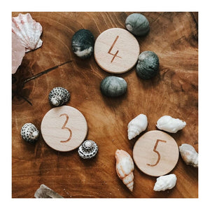 Wooden NumberDots *PREORDER*
