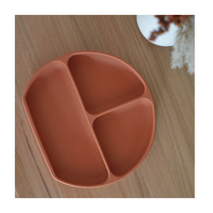 Silicone Suction Divider Plate