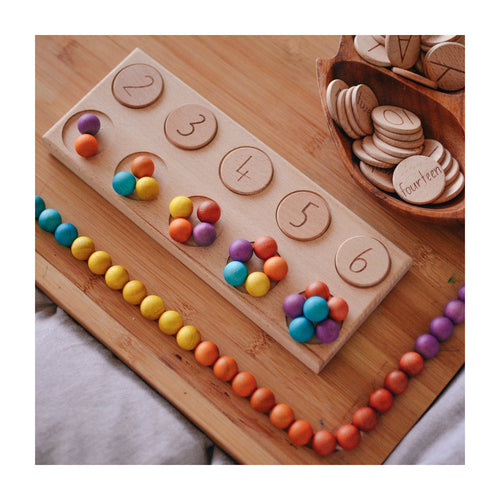 Wooden Balls (Set of 50)