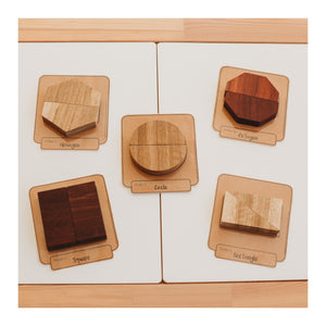 2-Piece Shape Puzzles