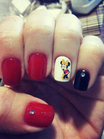 Minnie Mouse Nail Art Sticker - NailCareHub