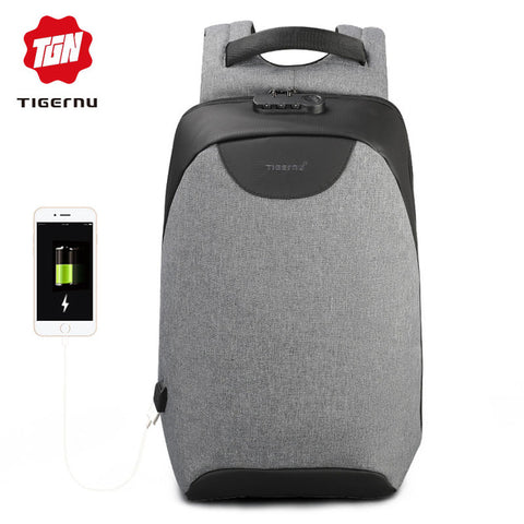 Anti theft Laptop Backpack USB Charging Port