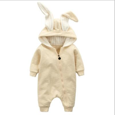 Image of BB Cutest Warm Bunny Rompers