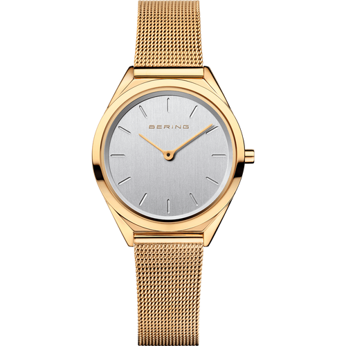 Bering Unisex Uhr Ultra Slim Collection gold glänzend 17031-334