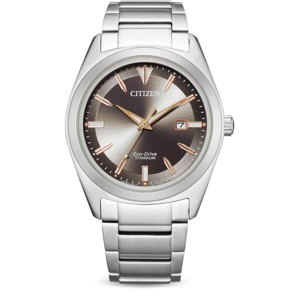 Citizen Herrenuhr Eco-Drive AW1640-83H Super Titanium