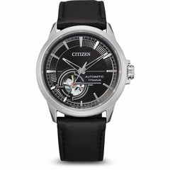 Citizen Herrenuhr Automatik NH9120-11E Super Titanium