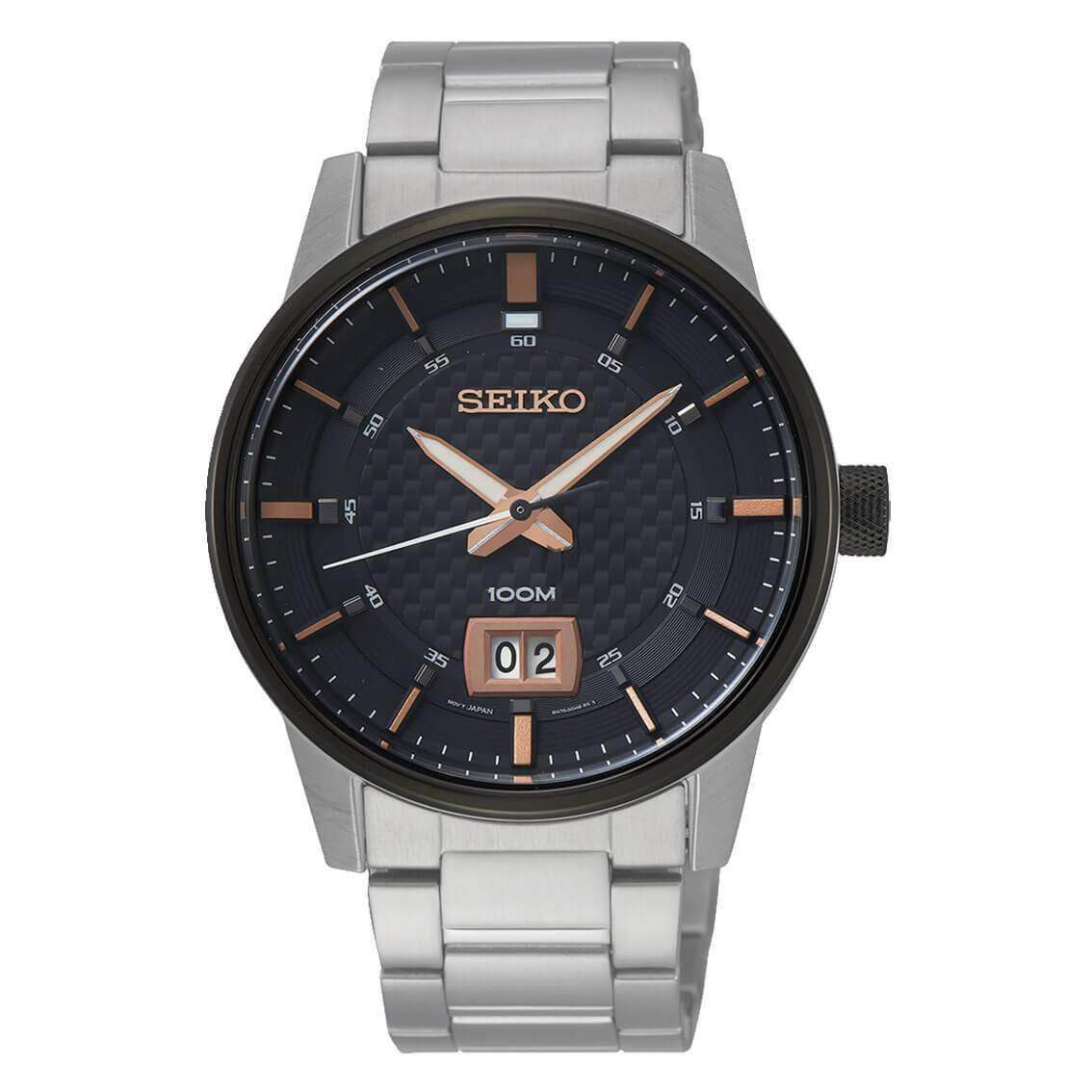 Seiko Herrenuhr Quarz SUR285P1 Neo Sports