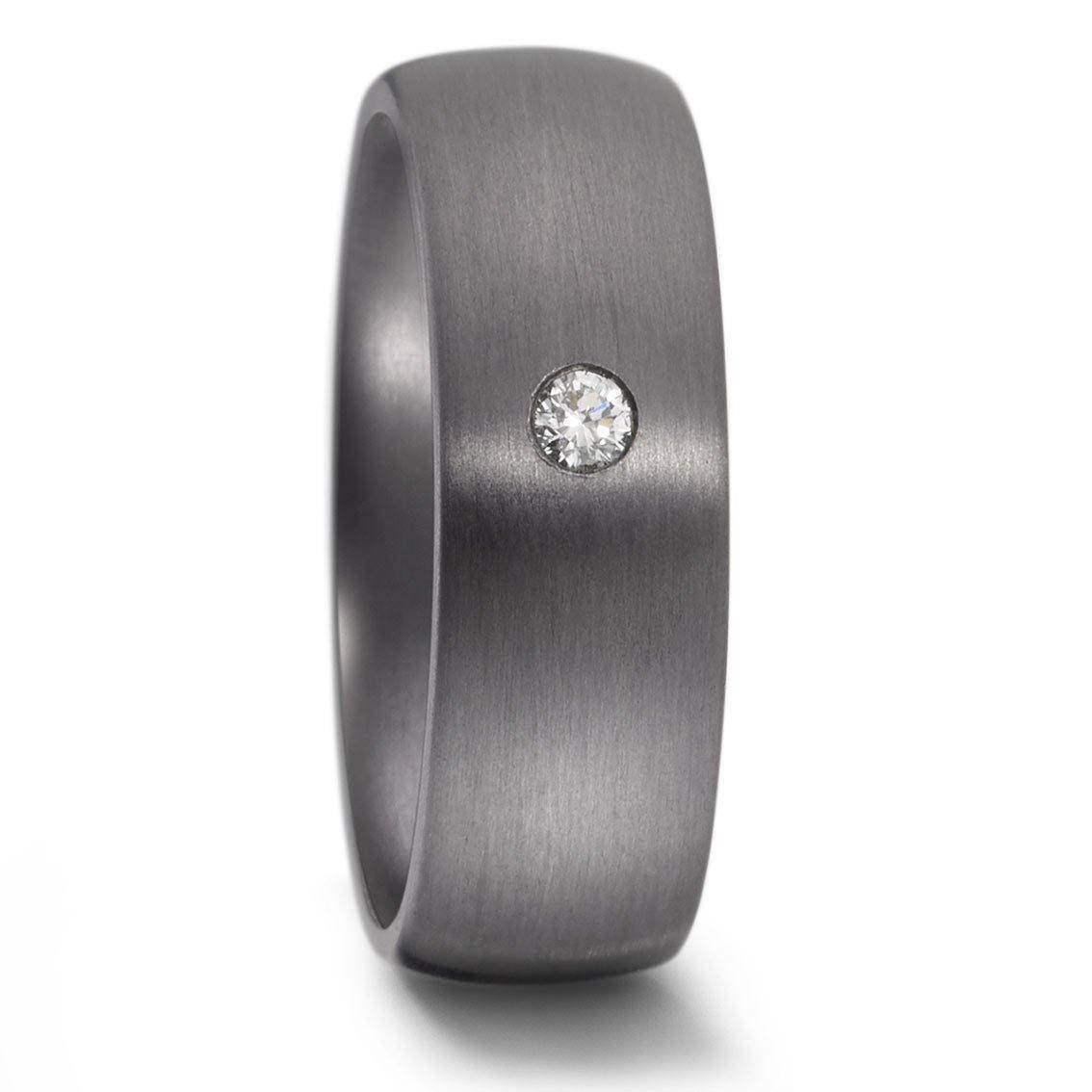 Teno Eheringe Tantal Diamant 0,05 ct