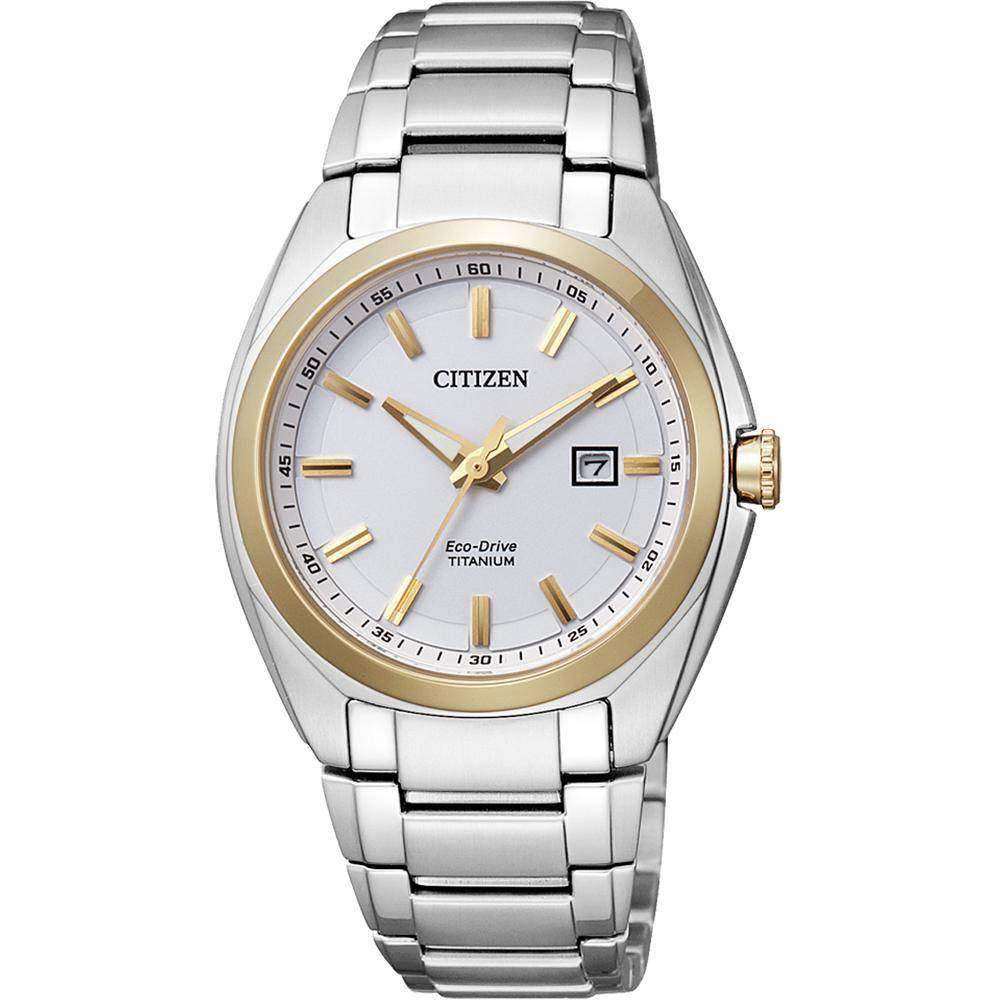 "Citizen Damenuhr ""Super Titanium"" EW2214-52A"