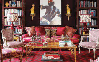 Maximalist Styling with Cushions