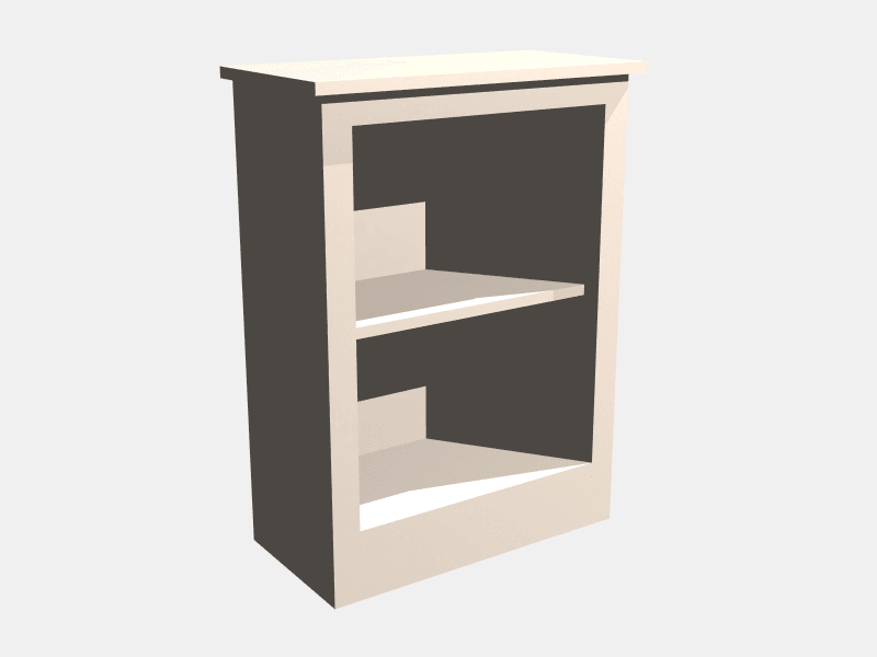 Low Single Bookcase