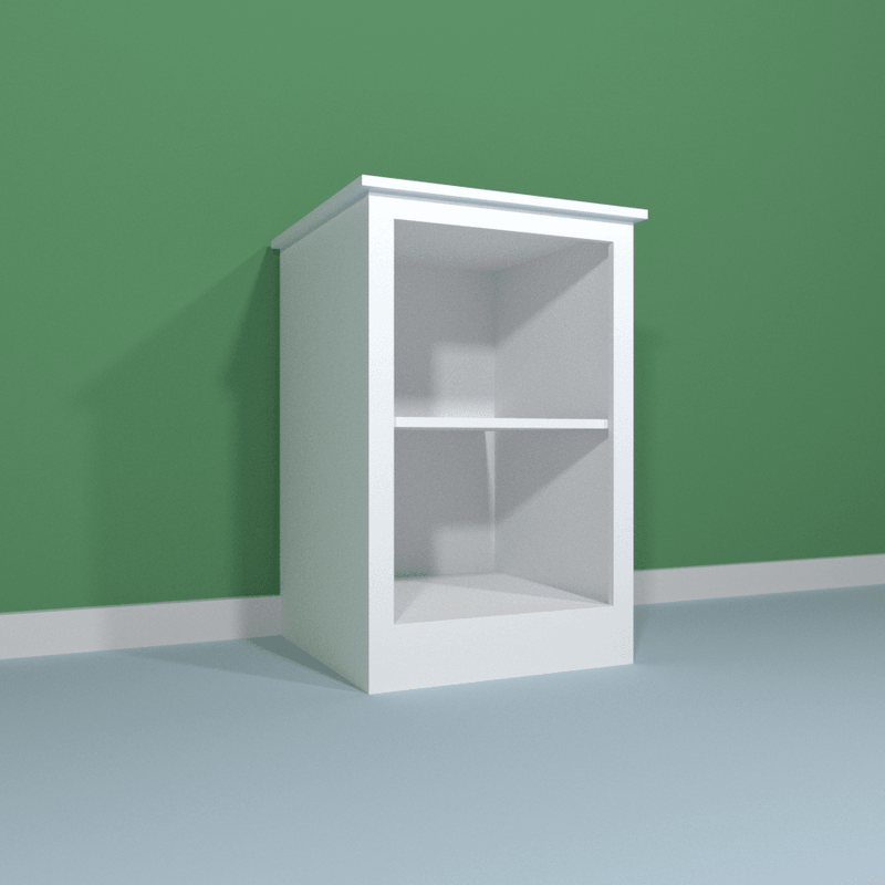 Customisable Single Bookcase