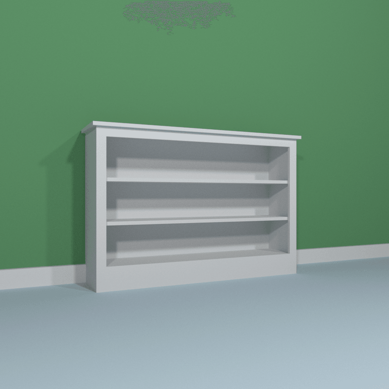 Low Double Bookcase