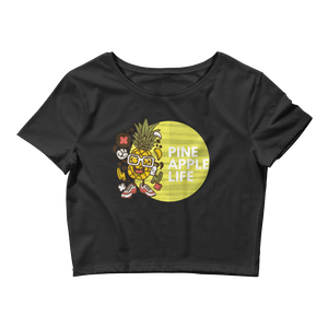 Pineapple Life Women's Crop Tee