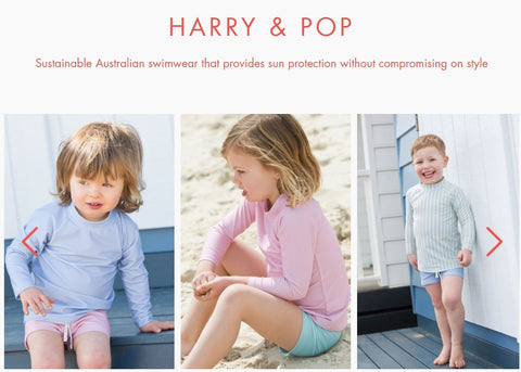 harry & pop in collaboration with babyccino kids