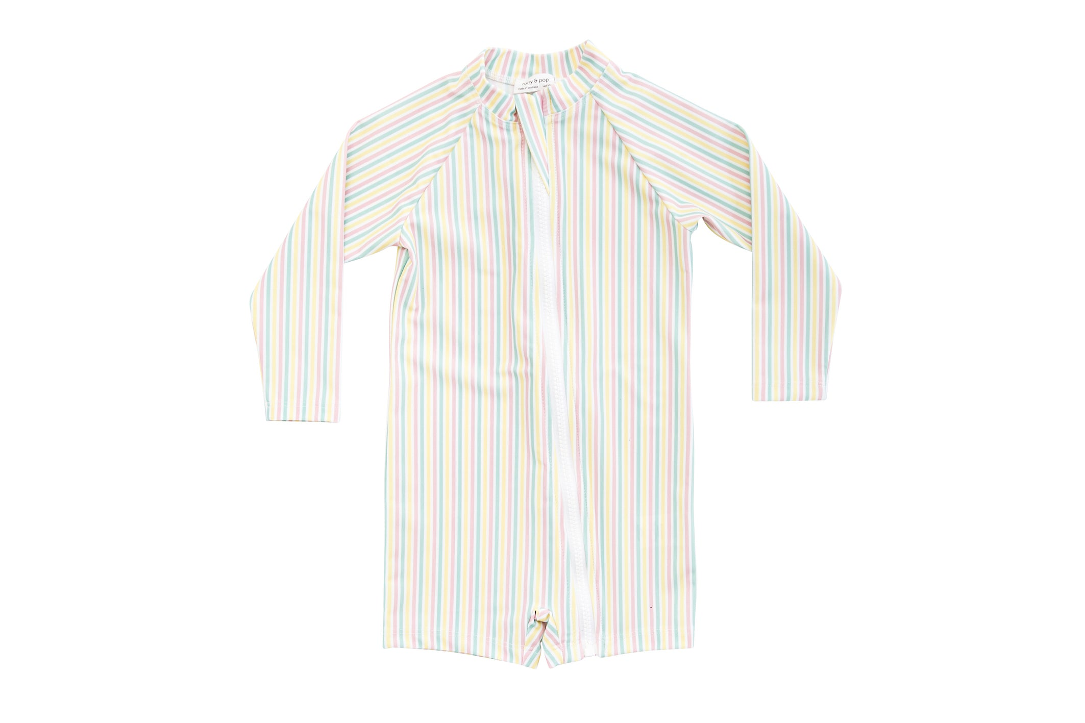 portsea pink stripe sunsuit