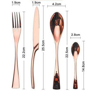 "SALTANGA ""ROUGE"" CUTLERY SET-The Innovative Kitchen"