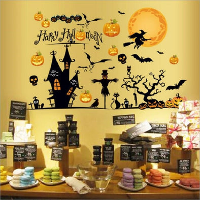 Innovative Halloween Wall Stickers