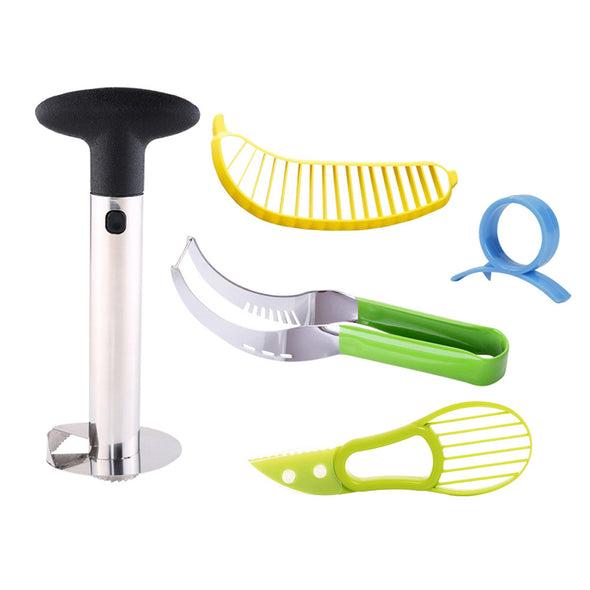 5 Piece Innovative Fruit Tool Set