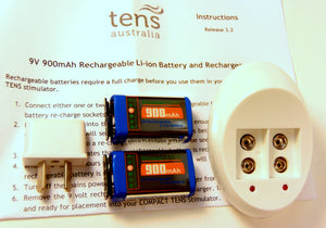 9V Rechargeable battery pack