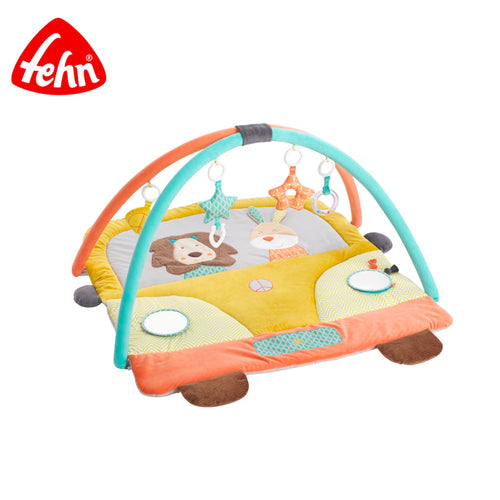 FEHN 3-D ACTIVITY GYM QUILT (FUNKY FRIENDS)