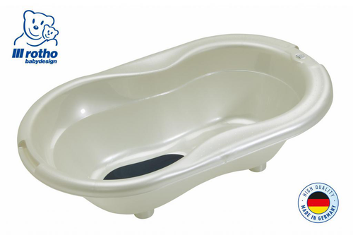 Rotho Top Bath Tub (Pearl White Cream)