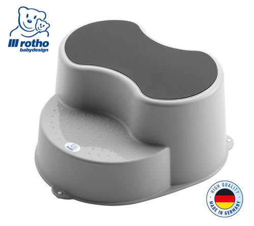 Rotho Step Stool (Silver Grey)