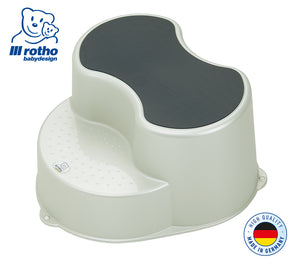 Rotho Step Stool (Pearl White Cream)
