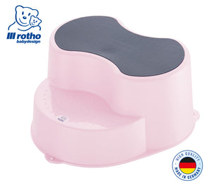 Rotho Step Stool (Tender Rose Pearl)