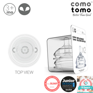 Comotomo Nipple Pack (twin pack) - 2 holes