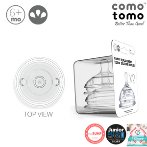 Comotomo Nipple Pack (twin pack) - 3 holes