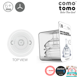 Comotomo Nipple Pack (twin pack) - Y Cut Variable flow