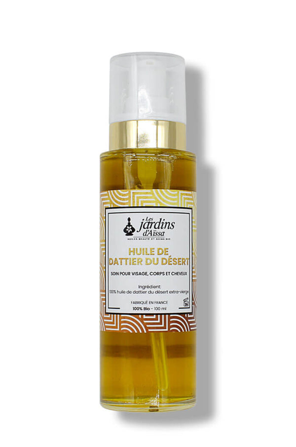 100% organic and natural extra virgin desert date oil