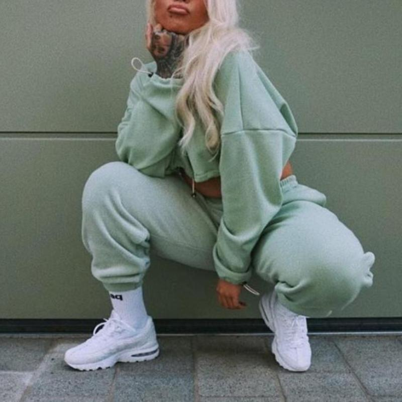 Green Casual Set