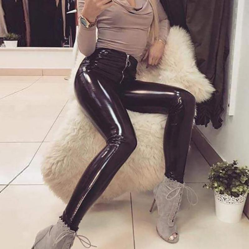 Latex Leather Pants