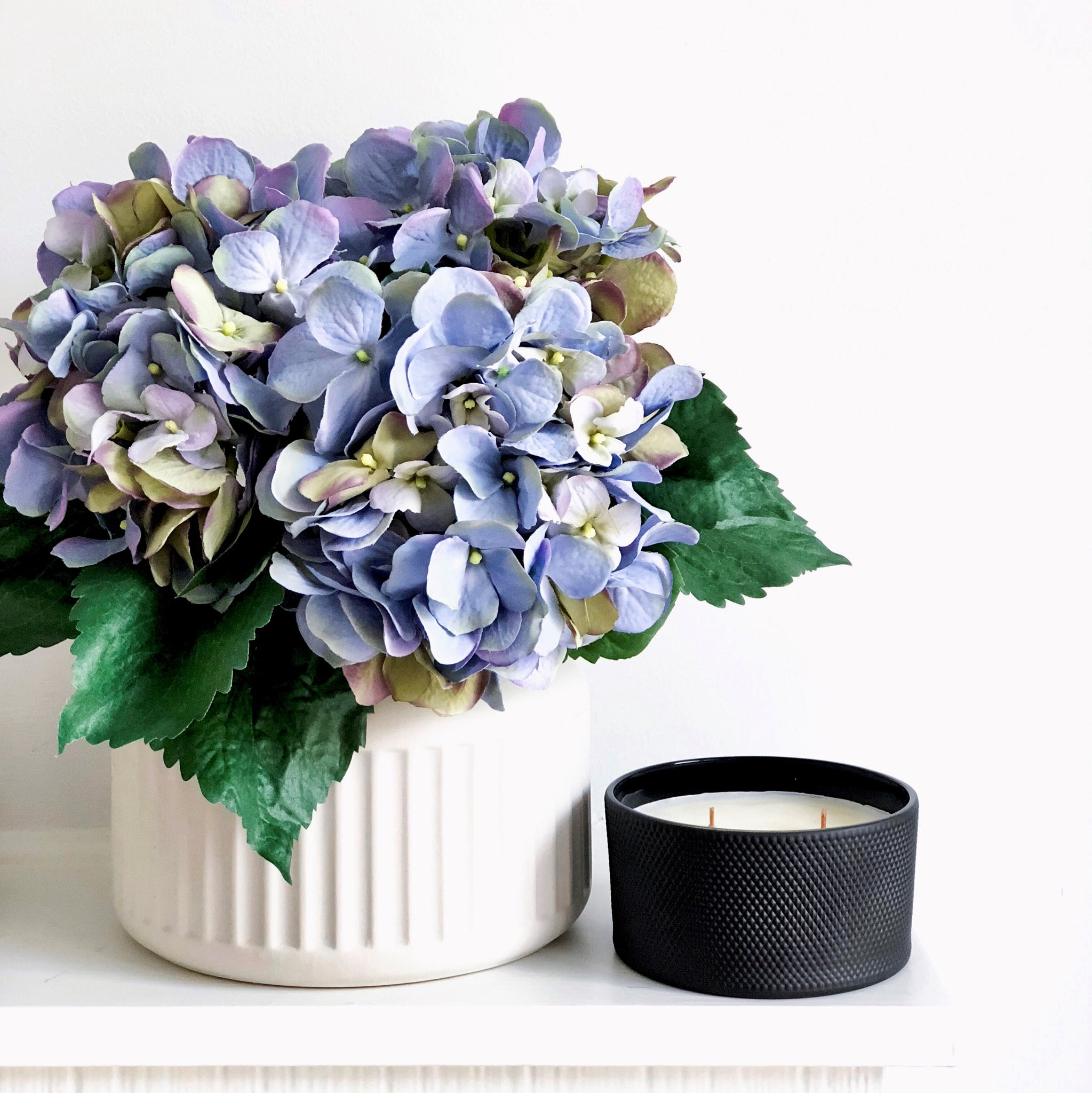 Blue Hydrangea Bouquet - Faking Beautiful
