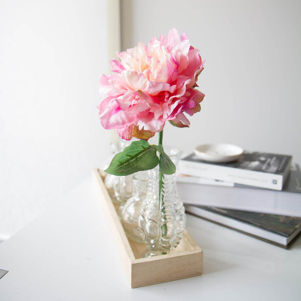 Ruffled Pink Peony - Faking Beautiful